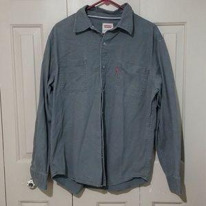 Levi's vintage denim gray shirt